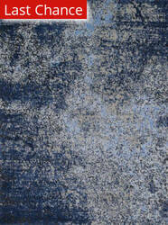 Rugstudio Sample Sale 113886R Grey / Navy Area Rug