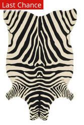 Rugstudio Sample Sale 113914R Black / Ivory Area Rug