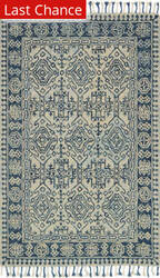 Rugstudio Sample Sale 175517R Mist - Blue Area Rug