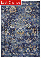 Rugstudio Sample Sale 190443R Indigo Multi Area Rug