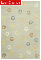 Rugstudio Sample Sale 31269R PEARL / GREY Area Rug