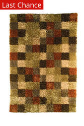 Rugstudio Sample Sale 59248R Beige/Brown Area Rug