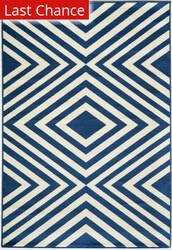 Rugstudio Sample Sale 161007R Navy Area Rug
