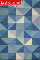 Rugstudio Sample Sale 161136R Blue Area Rug