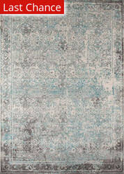 Rugstudio Sample Sale 161420R Turquoise Area Rug