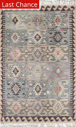 Rugstudio Sample Sale 171729R Blue Area Rug