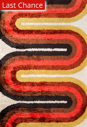 Rugstudio Sample Sale 173641R Red Area Rug