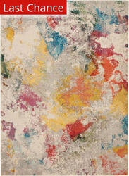 Rugstudio Sample Sale 193663R Ivory - Multi Area Rug