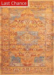 Rugstudio Sample Sale 174074R Blue-Russet Area Rug