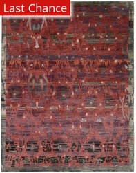 Rugstudio Sample Sale 124916R Pomegranate Area Rug