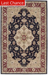 Rugstudio Sample Sale 37418R Black Area Rug