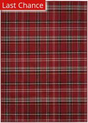 Rugstudio Sample Sale 174092R Red Area Rug