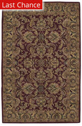 Rugstudio Sample Sale 23143R Burgundy Area Rug