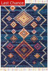 Rugstudio Sample Sale 193718R Navy Area Rug