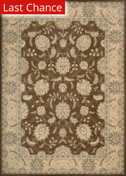 Rugstudio Sample Sale 28445R Chocolate Area Rug