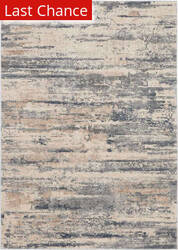 Rugstudio Sample Sale 193727R Beige - Grey Area Rug