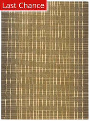 Rugstudio Sample Sale 17443R Khaki Area Rug