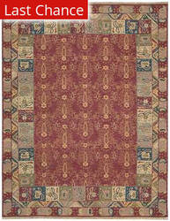 Rugstudio Sample Sale 23351R Rust Area Rug