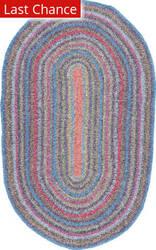 Nuloom Hand Braided Maynard Multi Area Rug