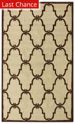 Nuloom Decor Trellis Ivory Area Rug