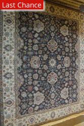 ORG Antiqued Jaipur Om-2 Brown/Ivory Area Rug