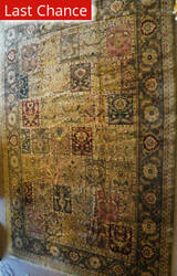 ORG Antiqued Jaipur 912 Green Area Rug