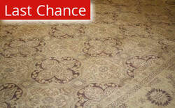 ORG Peshawar Floral Chocolate Area Rug