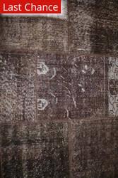 ORG Vestige Collection D-36 Brown Area Rug