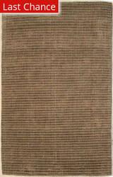 ORG Natural Weaves Stripe 33 Brown - Blue Area Rug