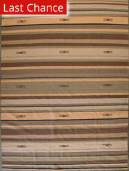 ORG Casual Cotton 9118 Beige Brown Area Rug