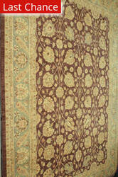 ORG Peshawar Ult-119 Brown - Blue Area Rug