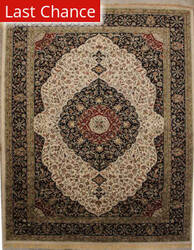 ORG Ovations St-7 Beige/Black Area Rug