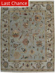 Org Santo P45 Light Blue-Beige Area Rug