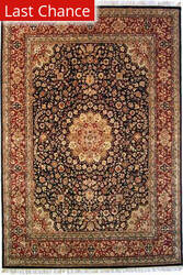 ORG Ovations St-5 Black/Red Area Rug