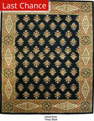 ORG Handtufted Timas Black Area Rug