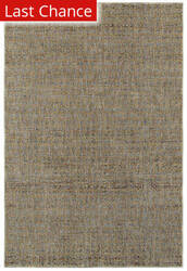 Rugstudio Sample Sale 167405R Blue - Gold Area Rug