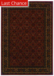 Rugstudio Sample Sale 110492R Burgundy Area Rug