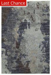 Rugstudio Sample Sale 167484R Navy - Blue Area Rug