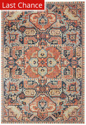 Rugstudio Sample Sale 189627R Blue - Orange Area Rug
