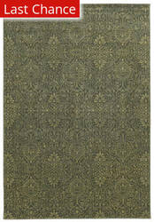 Rugstudio Sample Sale 110411R Olive Green Area Rug