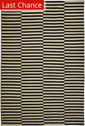 Ralph Lauren Cameron Stripe RLR5315A Bark Cocoa Area Rug