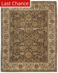 Amer Dimora Manchester Chocolate / Cream Area Rug