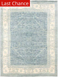Rugstudio Sample Sale 185936R Blue Area Rug