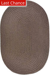Rugstudio Sample Sale 181418R Dark Taupe Area Rug