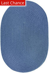 Rugstudio Sample Sale 181420R Marina Blue Area Rug