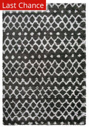 Rugstudio Sample Sale 179861R Charcoal Area Rug