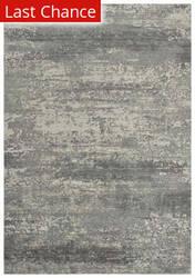 Rugstudio Sample Sale 196545R Gray - Ivory Area Rug