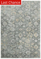 Rugstudio Sample Sale 196550R Gray - Beige Gray Area Rug