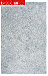 Rugstudio Sample Sale 163380R Blue Area Rug