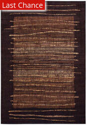 Rugstudio Sample Sale 163321R Black Area Rug